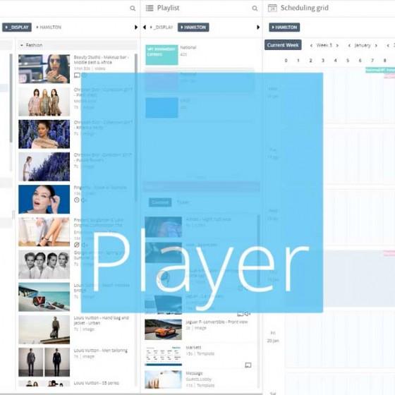 Motion Design logiciel Navori QL 2.0 CMS
